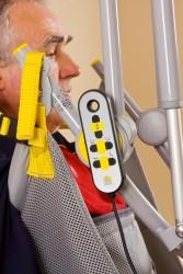 Lève-personne mobile 2600 (Victor) , Lève-personne avec fléau basculant 2610 (Victor) , Sangle de toilette avec support de tête , Le fléau basculant électrique